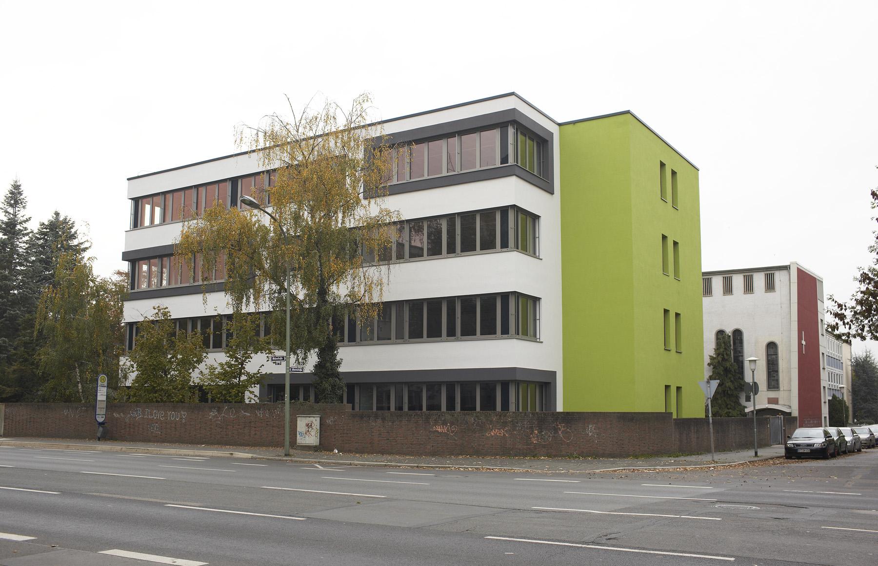 Wellnitz architekten marienschule bau b for Offenbach design